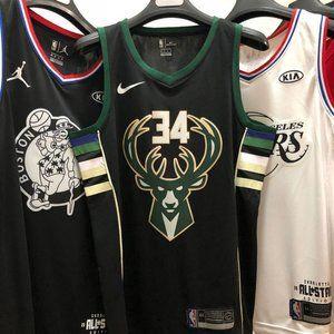 Giannis Antetokounmpo Milwaukee Bucks City Edition